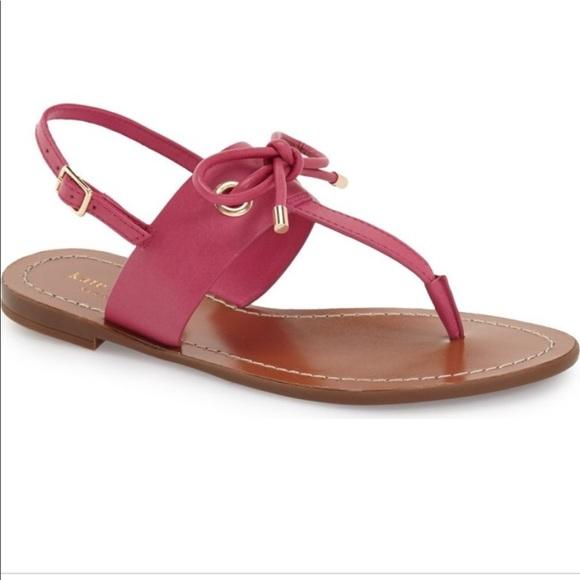 d2c46cee2 🎀Kate Spade🎀Pink Carolina Thong Sandals